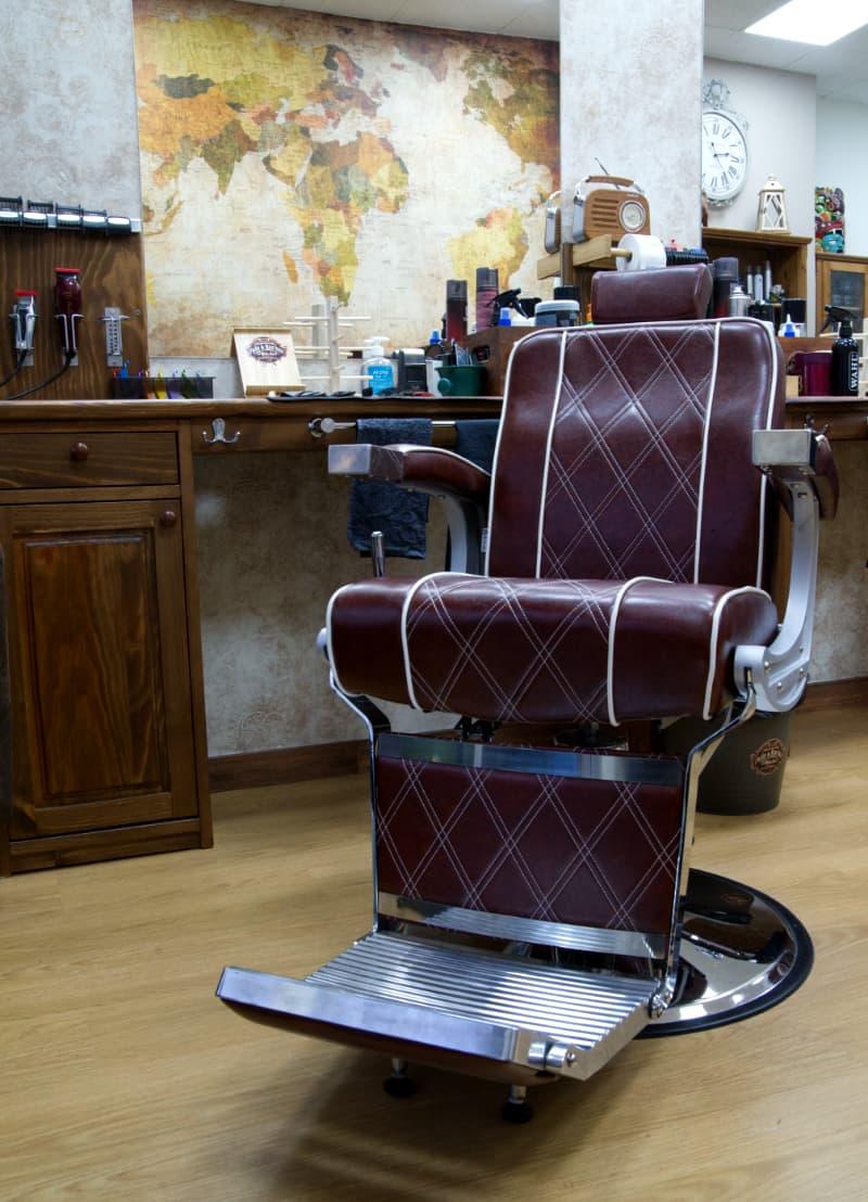 Butaca de barbería